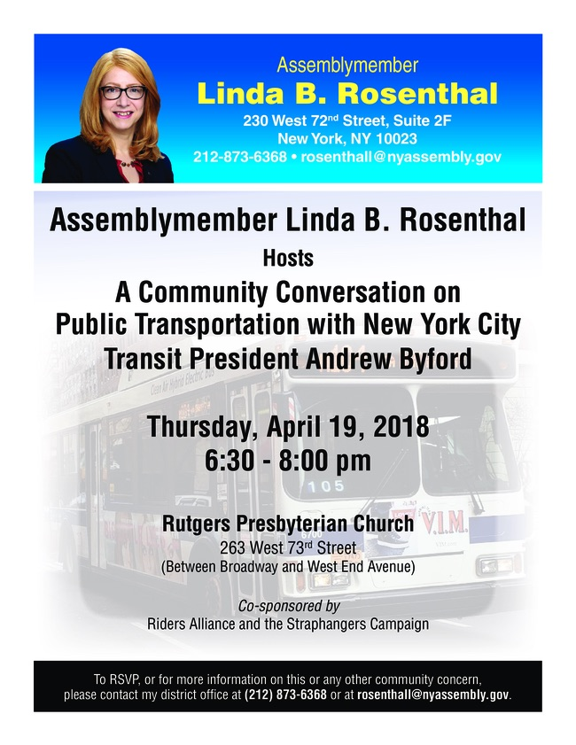 2018 Bus Town Hall Flier with MTA FINAL